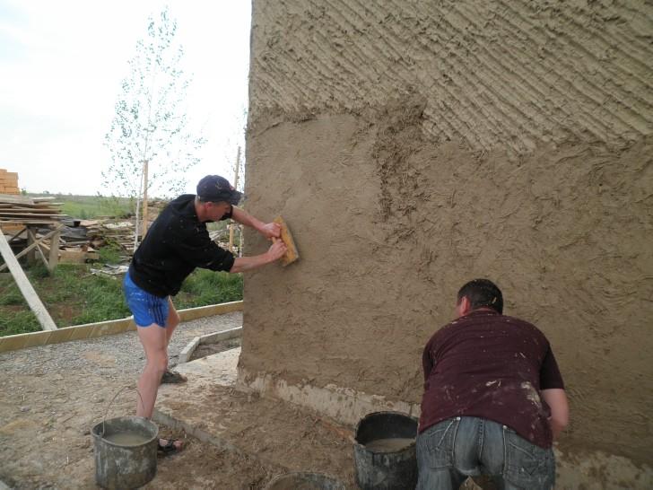 Штукатурка из глины своими руками 3867