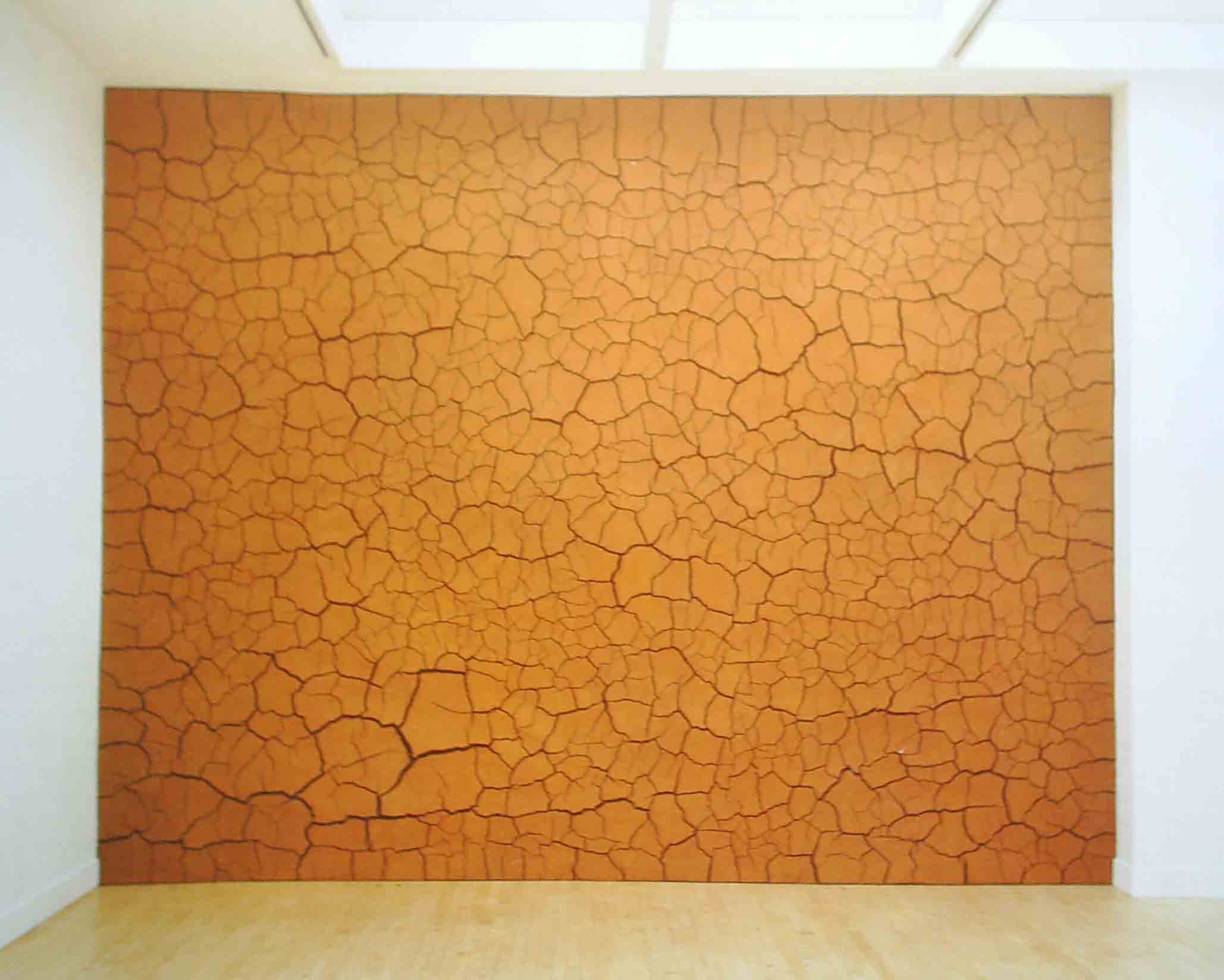 gold Clay wall web